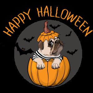 happy halloween mops