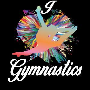 Gymnastik macht das Leben besser Ich liebe Gymnastik