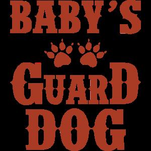 babys guard dog