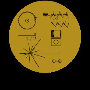 Golden Record Voyager 1977 Raumfahrt Raumschiff