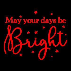 Mögen Ihre Tage ein knallrotes Weihnachtslied sein