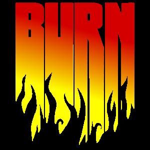 BURN - Schwarze Flammen - Flamme