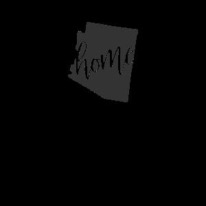 Arizona Home State Umriss Design, Südwesten Geschenk