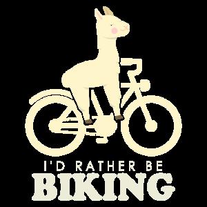 Fahrrad Alpaka BIKING ALPACA