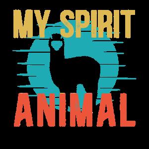 MY SPIRIT ANIMAL ALPACA