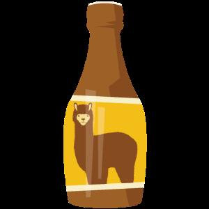 Alpaka Flasche