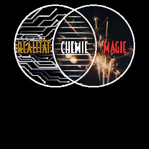 Witziges Chemie Wie Magie Nur Real T-Shirt