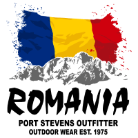 Romania - Mountains & Flag