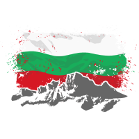 Bulgaria - Mountains & Flag