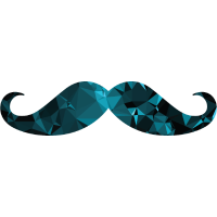 Moustache (Low Poly Style)