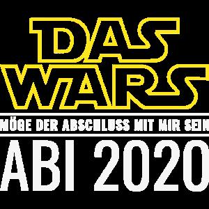 Das Wars ABI 2020 Möge der Abschluss mit mir sein