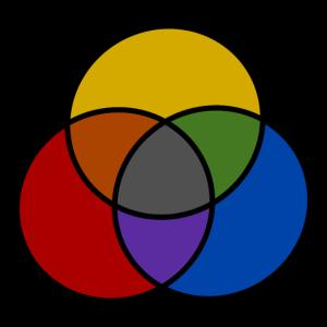 Farbmischung/Bunt/Kreise