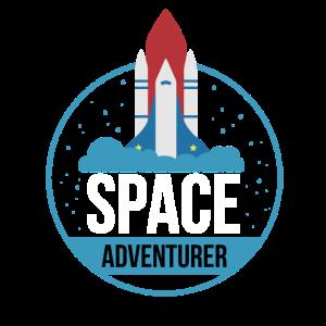 Space Adventurer Weltraum Abenteuerer Geschenk
