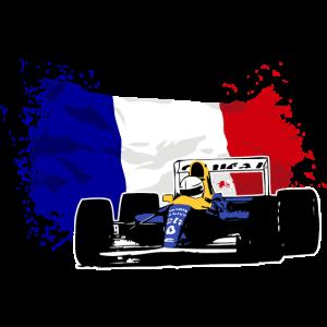 Formula One - French Flag