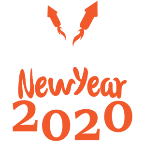 Happy New Year 2020 - Silvester Rakete