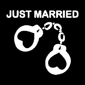 Just married Handschelle