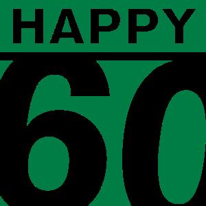Happy 60 Geburtstag