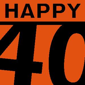 Happy 40 Geburtstag