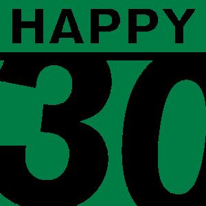 Happy 30 Geburtstag