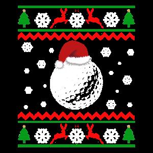 Weihnachten Golf Golfplatz Xmas