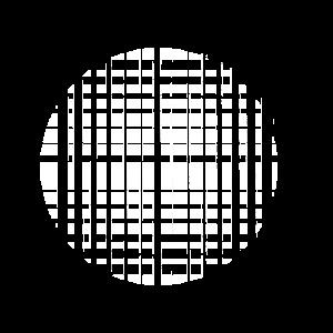 GEOMETRISCH - KREIS - WHITE