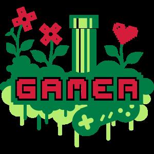 Gamer Garden (Pipe & Flowers)