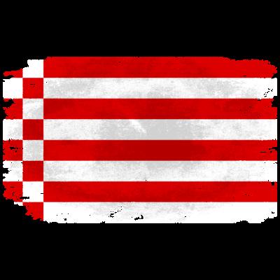 Bremen Flagge - Vintage Look - Bremen Flagge - Vintage Look - flag,fahne,Vintage,Flagge,Bremen