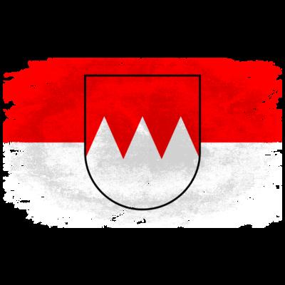 Franken Flagge - Vintage Look - Franken Flagge - Vintage Look - würzburg,nürnberg,kulmbach,hof,flag,fahne,aschaffenburg,Vintage,Franken,Flagge