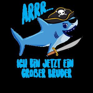 Großer Bruder Hai Pirat Piraten