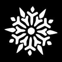 Schneeflocke Weihnachtsgeschenk