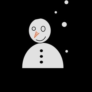 Snowman - Schneemann - Bonhomme de neige Snow [A]