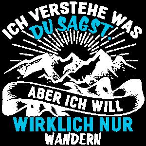 Wandern – Shirt Wald Bergsteigen Geschenk