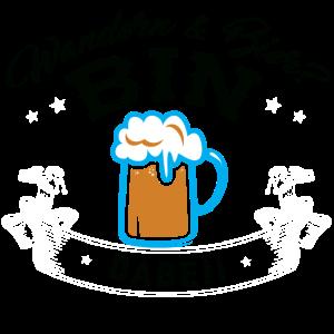 Wandern – Shirt Bier Wanderer Berge Geschenk