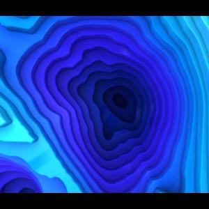 Abstrakte Tiefsee oberfläche