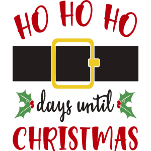 Ho Ho Ho Tage bis Weihnachten