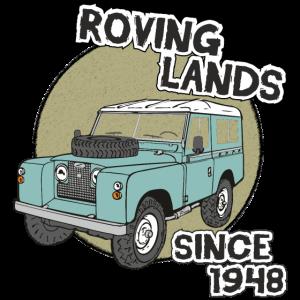 Landy Landie Roving Lands 4x4 Offroad