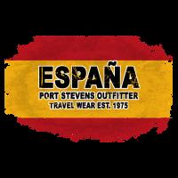 Spain Flag  - Vintage Look