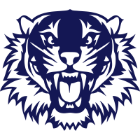 wilden Tiger offenen Kiefer 2303