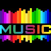 music Musik Equalizer rainbow Regenbogen bunt