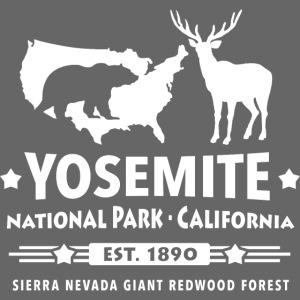 Yosemite National Park California Bär Redwood