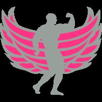 koerper bodybuilding sportler fluegel