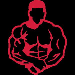 bodybuilding koerper fitness club logo 4_1
