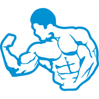 bodybuilding koerper fitness club logo 6_1