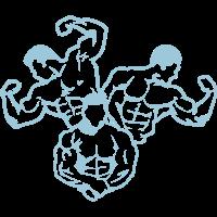 bodybuilding koerper fitnessclublogo 8_1