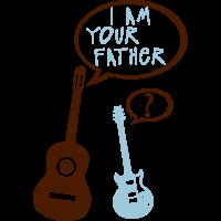 Elektro-Akustik-Gitarre Ihr Vater