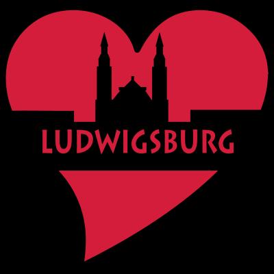 herz_ludwigsburg - Ludwigsburg liegt im schönen Baden-Württemberg. - flugfelden,Strohgäus,Poppenweiler,Oßweil,Neckarweihingen,Neckar,Ludwigsburg,Hoheneck,Grünbühl-Sonnenberg,Eglosheim,Baden-Württemberg