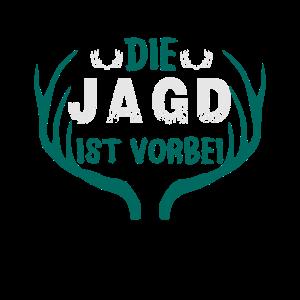 JGA Shirt ● Die Jagd ist vorbei ● Geschenk