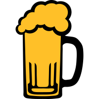 6115 alkohol bier schaum zeichnung
