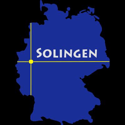 solingen - Solingen ist eine Stadt im Bergischen Land in NRW. - Solingen-Mitte,Solingen,Ohligs,NRW,Merscheid,Höhscheid,Gräfrath,Burg,Aufderhöhe