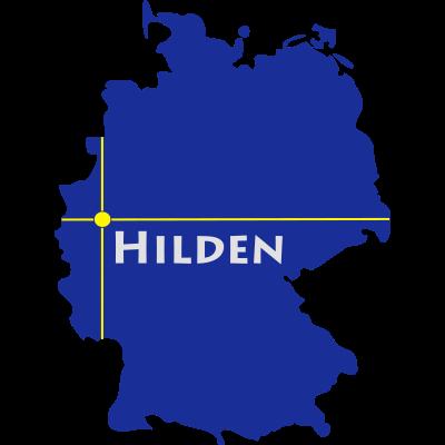 hilden - Hilden liegt im Kreis Mettmann in NRW. - NRW,Mettmann,Hilden
